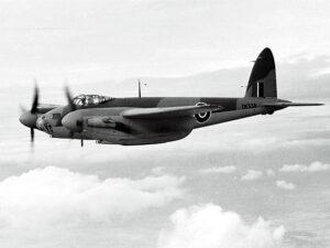 Figure 1: deHavilland Mosquito fighter-bomber.